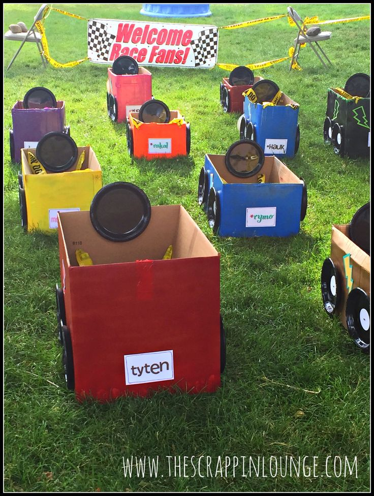 Love this for a truck party if you could keep numbers low enough little ones would have so much fun!