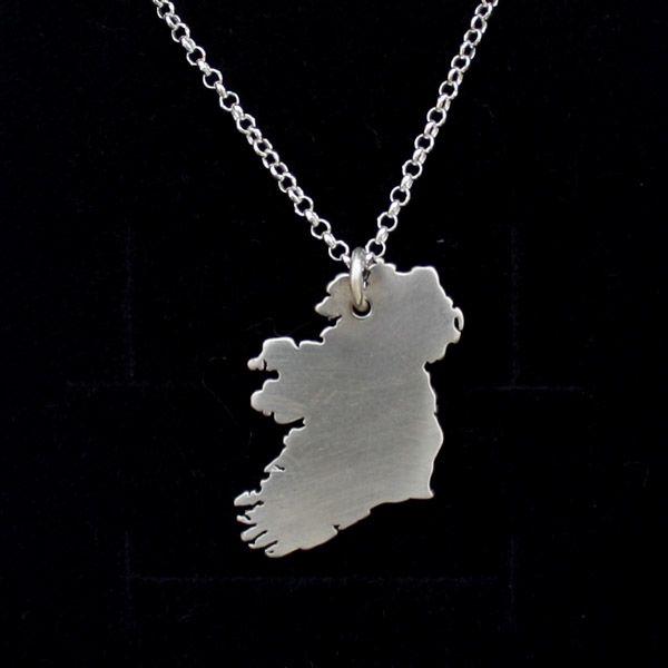 Ireland Silver Pendant