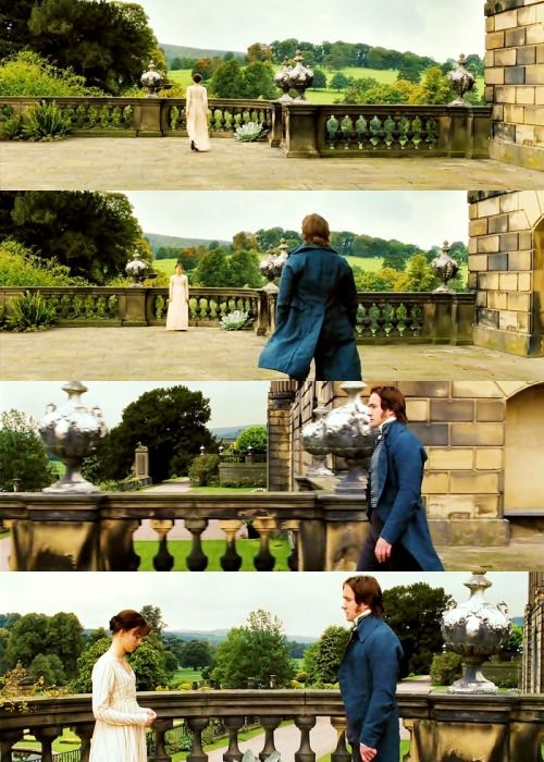 """""""I like very much the way Matthew brought humour to Mr. Darcy. He´s a very good comic actor, and he just brings a little edge of humour to him. It´s really sweet"""". (Joe Wright, Director)"""