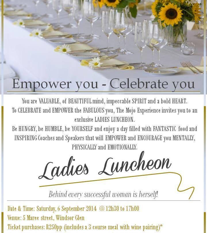 Ladies Lunch - summer invitation - by Lynn