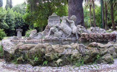 Villa Sciarra, Fontana dei Faunetti | Roma Segreta