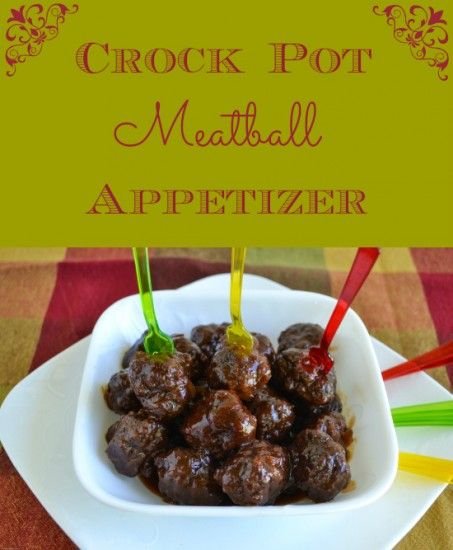 Progressive Dinner: Crock Pot Meatball Appetizer - Flour On My Face