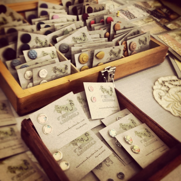 old drawers to display goodies