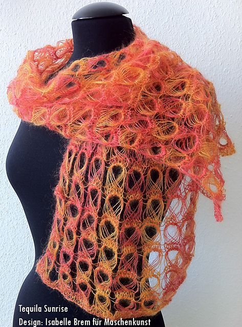 Ravelry: Tequila Sunrise pattern by Isabelle Brem