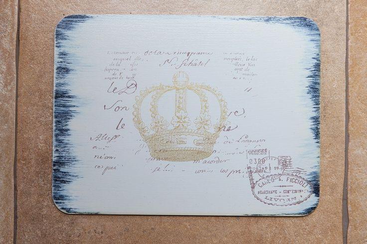 Placemats Gold Crown Set