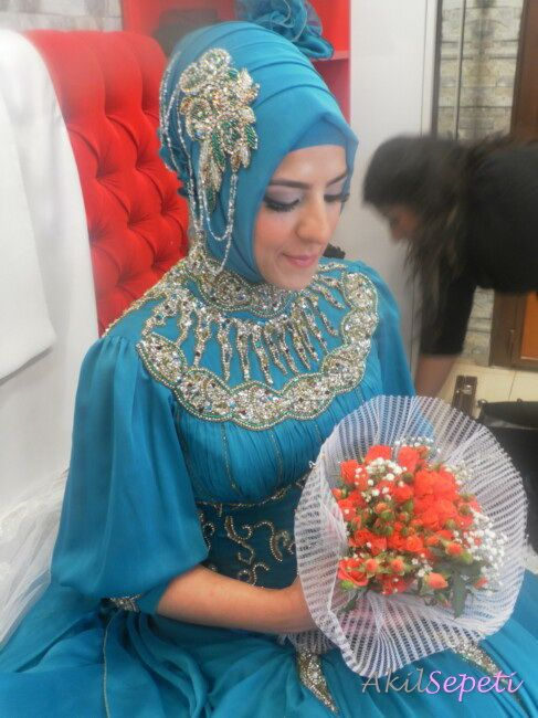 Kına Gecesi Gelin Turkish Bride Wedding Dress For
