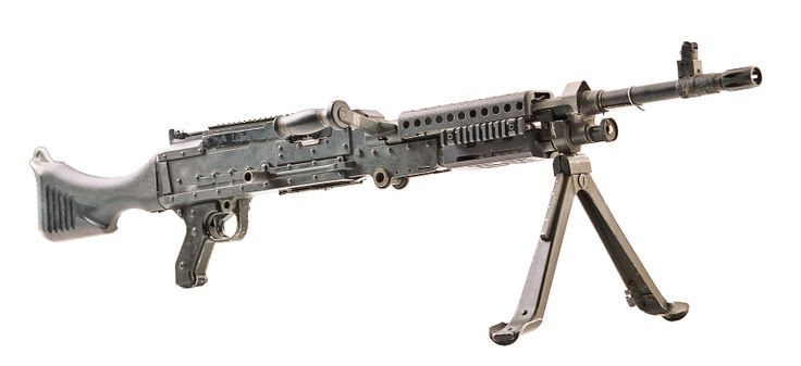 The M240 machine gun is the U.S. military designation for the FN MAG (Mitrailleuse d'Appui Général, or General Purpose Machine Gun), a family of belt-fed, gas-operated medium machine guns firing the 7.62×51mm NATO cartridge.  The M240 has been used by the U.S. Armed Forces since the late 1970s extensively by infantry as well as ground vehicles, watercraft, and aircraft. It is highly regarded for reliability, and its standardization among NATO members is also seen as a major advantage.