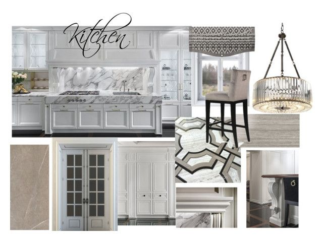 zr Kitchen by naala-art on Polyvore featuring polyvore, interior, interiors, interior design, home, home decor, interior decorating and kitchen