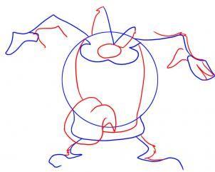 how to draw a tasmanian devil animal step by step