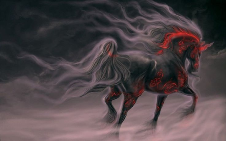 Evil Unicorn Download free addictive high quality photos,beautiful images and amazing digital art graphics about Fantasy / Imagination.