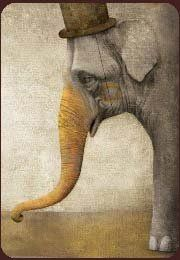 Twisted Cruel.  My hate for the circus or any other avenue (many zoo's) that torture beautiful animals for entertainment.  This piece of art stirs much sadness inside of me.