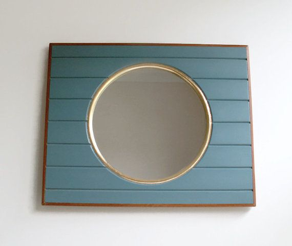 Boat Mirror, Porthole Mirror, Wall Mirror, Handmade Mirror, Beach Decor, Round Mirror, Nautical Decor, Marine Decor, Decorative Wall Mirror