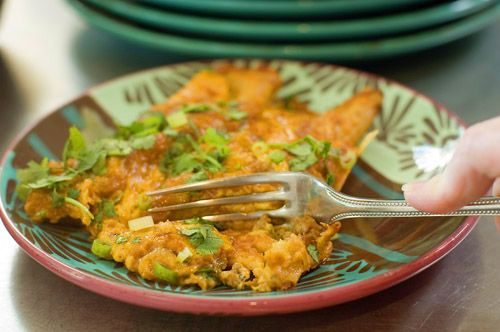 Enchiladas  - ThePioneerWoman.com  (These are the best enchiladas i've ever tasted.  All 6 of us LOVED them.  Plus, they can be made up and frozen for future cooking - plus parts can be made for future assembly as well.)