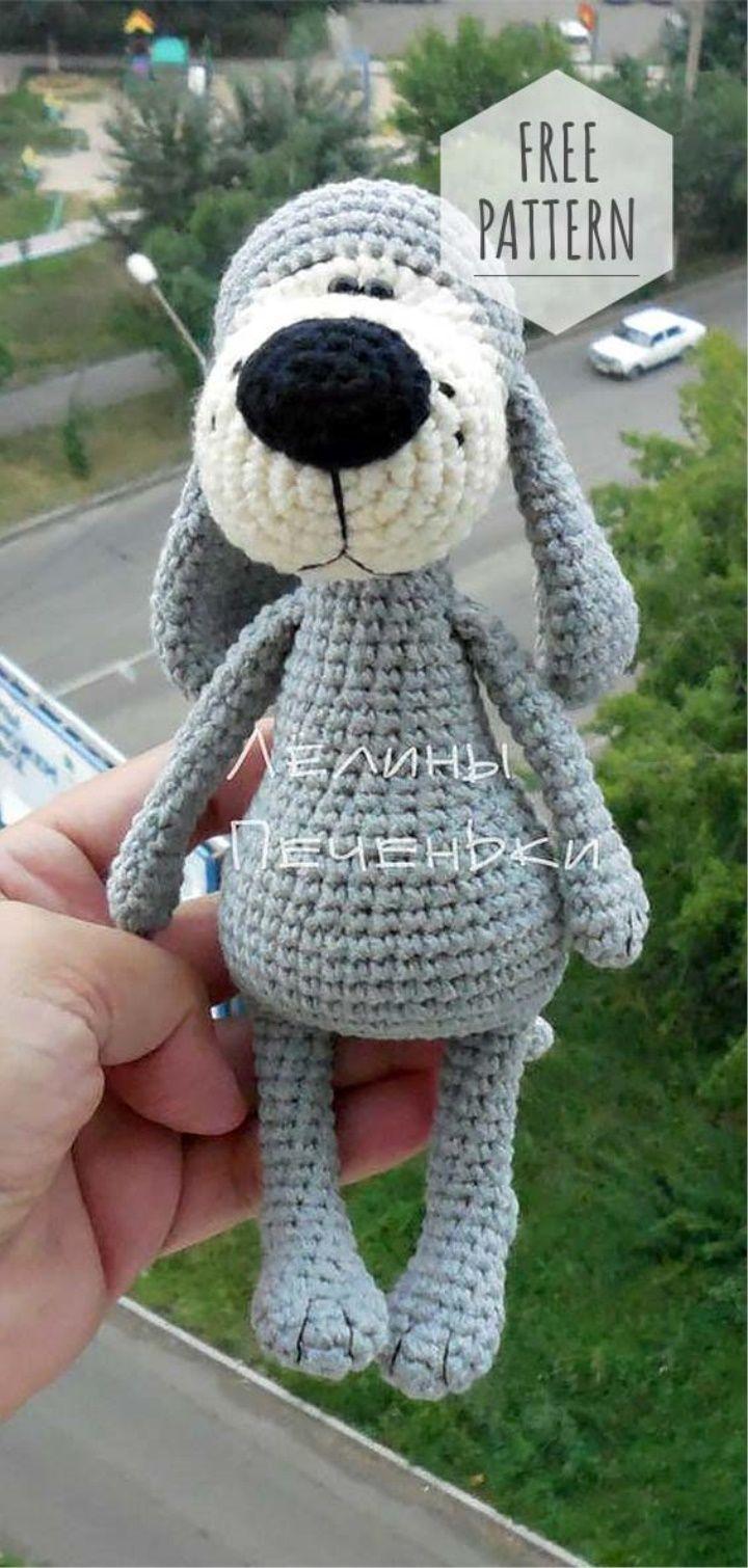 Amigurumi Little Dog Free Pattern – Sylvia Dreyer