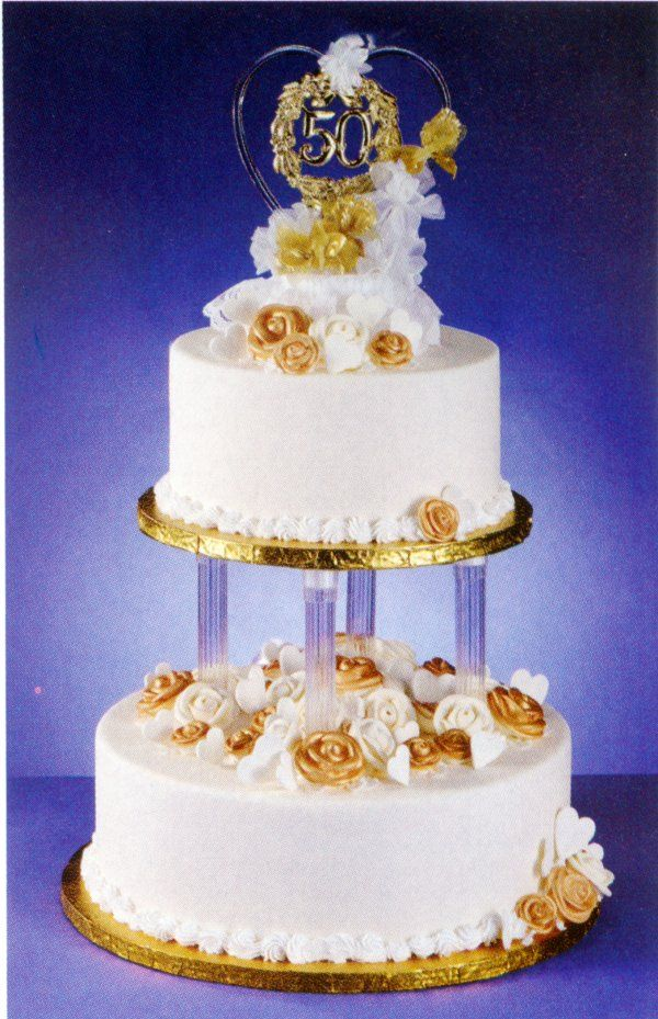 50th wedding cake ideas 50 th anniversary cakes search 50th anniversary 1161