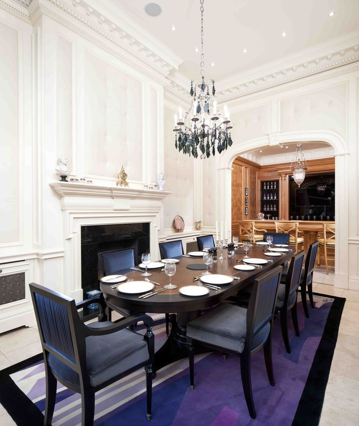 Alpha Dining Table And Chairs With Ivory Panelling