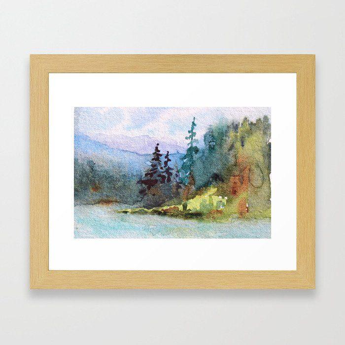 Nature Cool Shores Of Freedom Framed Art Print By Debiriley Society6 Framed Art Prints Framed Art Art