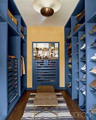 Nate Berkus' closet.  Via elledecor.comNate Berkus, Elle Decor, Closets Design, Interiors Design, Chicago Apartments, Dresses Room, Apartments Interiors, Shoes Closets, Dreams Closets