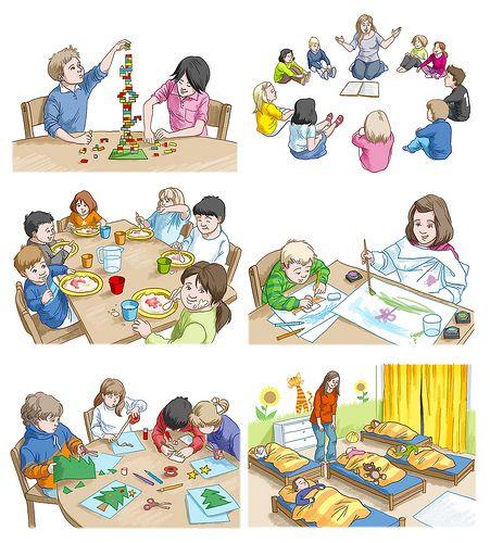 Kindergarten | Enseñando español | Kindergarten, School ...