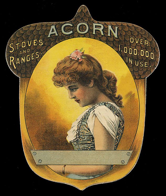 ~ Acorn Stoves and Ranges - Vintage Trade Card ~