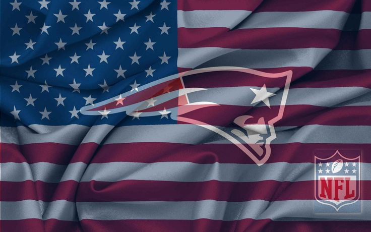 new england patriots images | New England Patriots Logo With NFL Logo On USA Flag Wavy Canvas ...