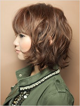 When I cut my hair again, I think I'll go for something like this.