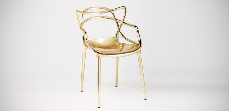 Kartell Italia: Masters chairs, design Philippe Starck with Eugeni Quitllet