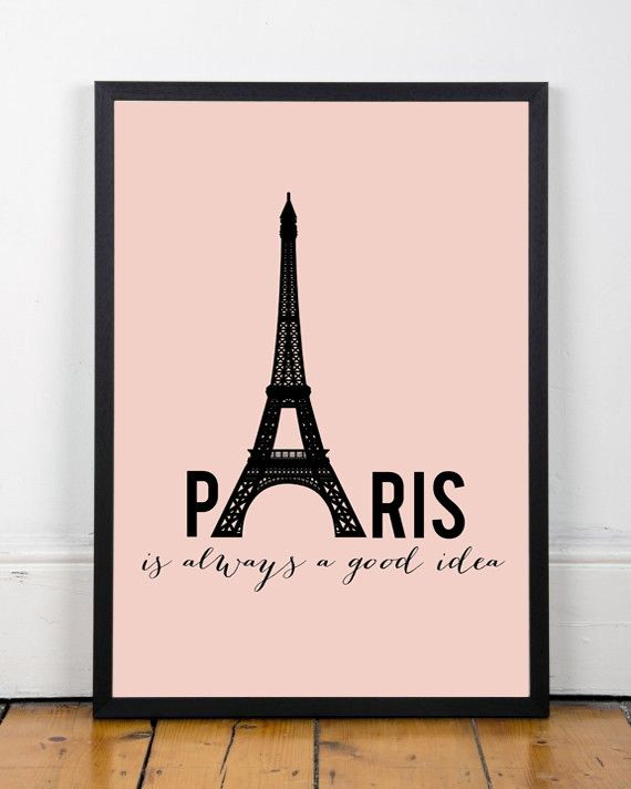 11 best typography images on pinterest qoutes - Poster xxl paris ...