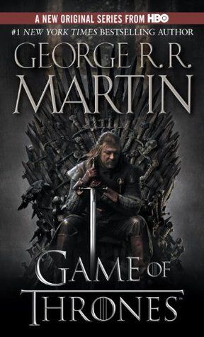 A Song of Ice and Fire, Book 1.  The ultimate high fantasy tale of our century.  There's too much to write about this book...just jump on the bandwagon and read it.  You won't regret it.  Then watch the TV show.