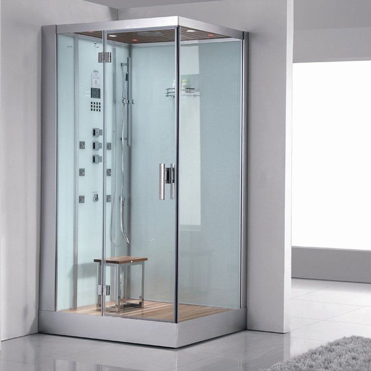 Enjoy the pleasures of the Ariel Platinum DZ959F8 Left White Steam Shower in your home. These units are fully loaded with a steam shower enclosure, a built-in steam generator, and a FM radio which are