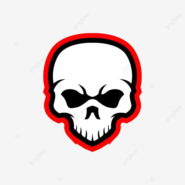 Cute Skull Head Mascot E Sports Logo Design Head Illustration Skull Png And Vector With Transparent Background For Free Download Sports Logo Design Logo Design Frame Logo