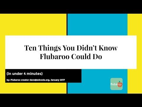 In this afternoon's webinar about Google Forms and Sheets for Beginners  I shared a few of the features of Flubaroo  for grading quizzes cre...