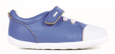Bobux Step Up Scribble Electric Blue Shoes