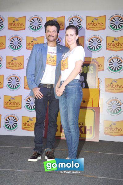Anil Kapoor & Kalki Koechlin at P&G Shiksha event in Mumbai