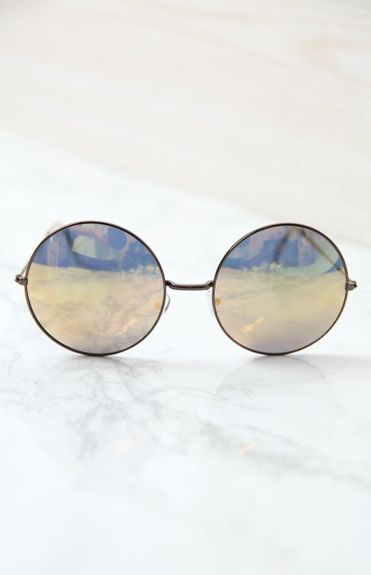 Quay Dynasty Sunglasses - Copper & Gold from peppermayo.com