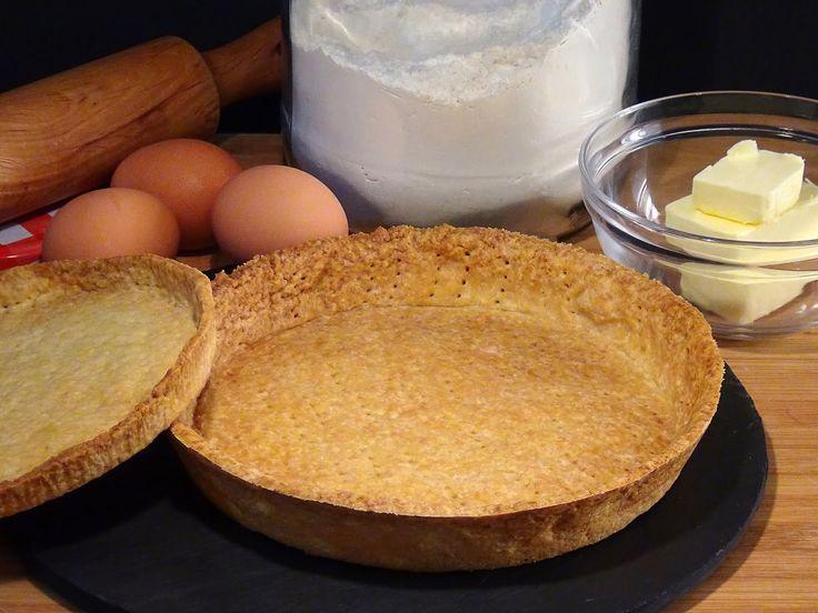 Receta Base para tartas y tartaletas de masa quebrada dulce - Recetas de...