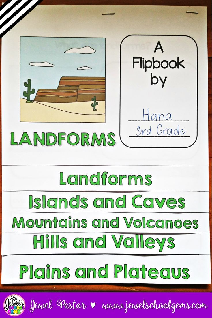 Free Worksheet Landforms And Bodies Of Water Worksheet 17 best images about landforms on pinterest lesson plans activities flipbook