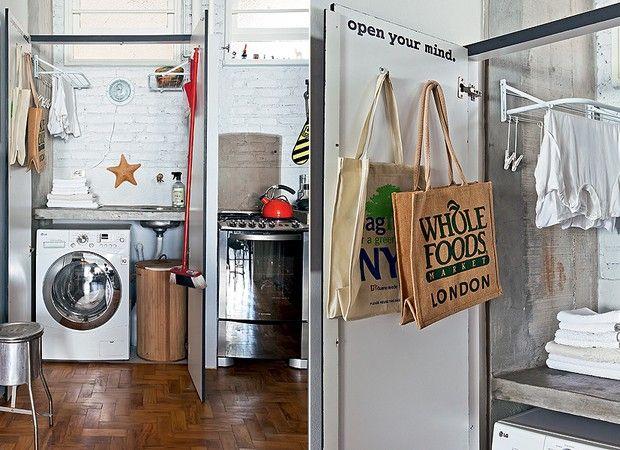 Área de serviço e lavanderia: ideias para organizar e decorar
