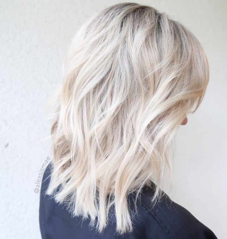 Pearl Ice Blonde Hair Color