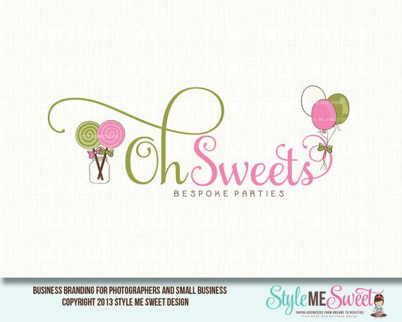 Oh Sweets Premade Logo Design