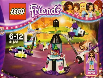 Lego Friends Amusement Park Space Ride $20 ~ Lego Friends summer 2016 sets