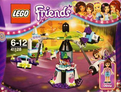 Lego Friends Amusement Park Space Ride $20 ~ Lego Friends summer 2016 sets