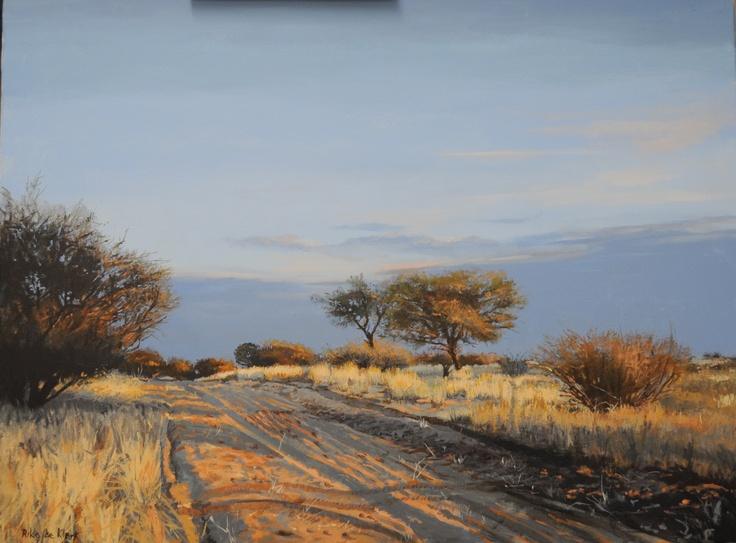Kalahari    by Rika De Klerk