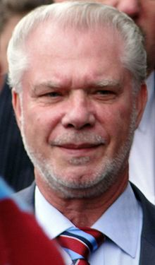 David Gold co owner West Ham United