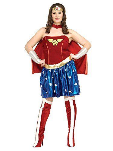Wonder Woman Plus Size Costume For Women @ niftywarehouse.com #NiftyWarehouse #DC #Comics #ComicBooks #WonderWoman #SuperHeroes