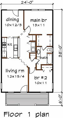 912 sq ft 24x38 cabin floor plans pinterest 21237 | e06081f49047ea44b602faf9b31be3f1