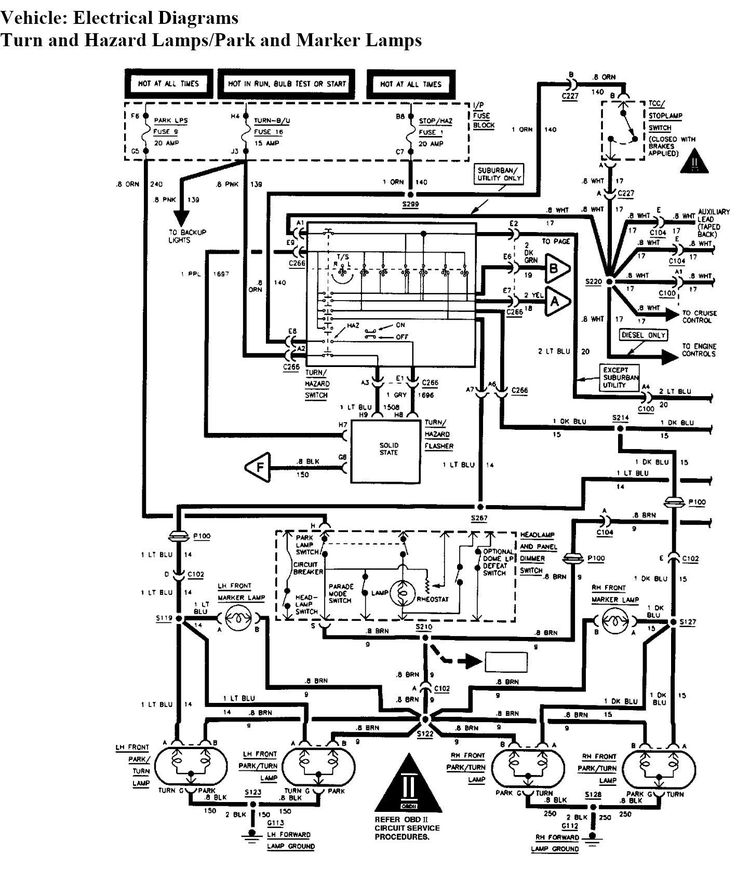 Best Of 2000 Chevy Silverado Brake Light Switch Wiring ...