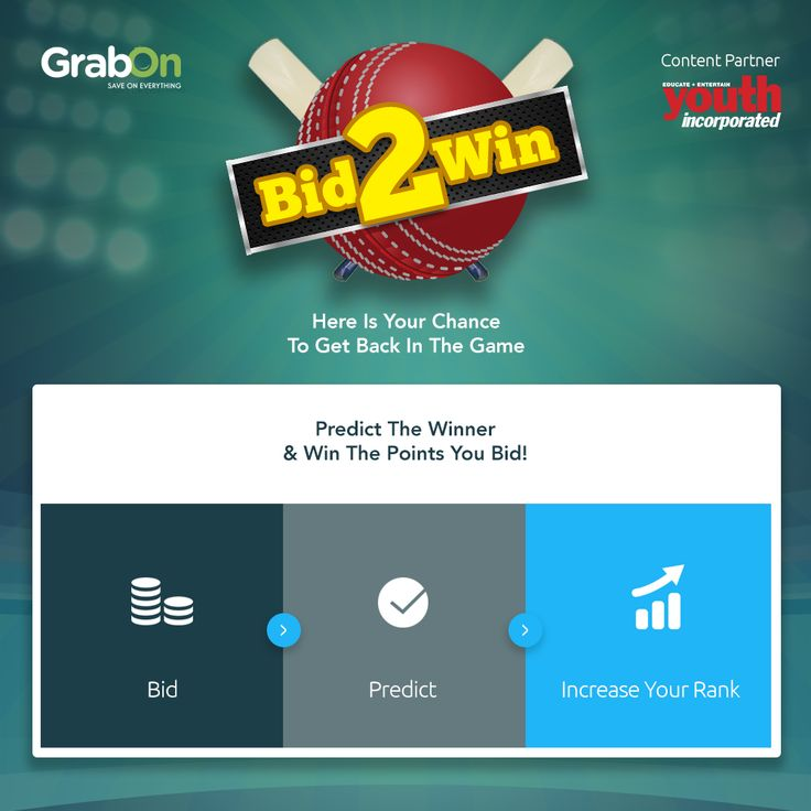 Bid,Predict & Increase Your Rank. With Youth Incorporated as Content Partner http://www.grabon.in/cricketfantasy/ ‪#‎GrabTheCup‬ ‪#‎WT20‬