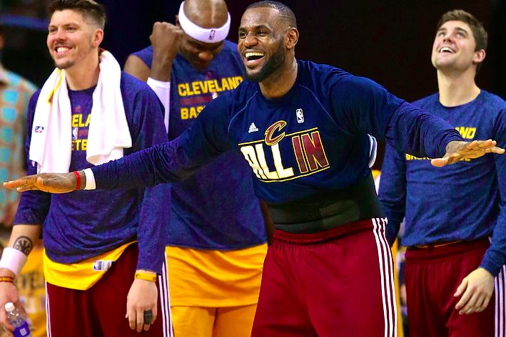 In Leading Cavs to NBA Finals, LeBron Shows Why He Is Game's Top Handyman