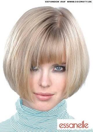 Image result for kurzhaarfrisuren für frauen mit dicken haaren